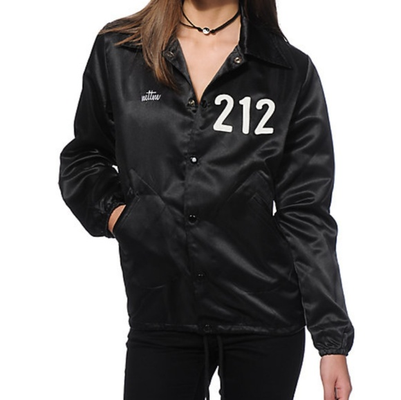 7997e35ee4098 Married To The Mob 212 Satin Coach Jacket